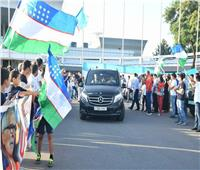 صور| استقبال حافل لـ«هيكتور كوبر» في أوزباكستان