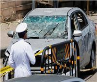 7 صور ترصد طريقة تعامل الأمن مع حادث الدقي