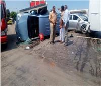 مصرع و إصابة 6 في حادث تصادم 13 سيارة بالإسكندرية