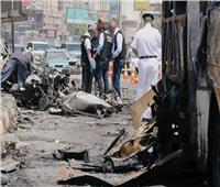 معاينة النيابة توضح حجم الخسائر في انفجار سيارة بمطلع كوبري أكتوبر بالدقي