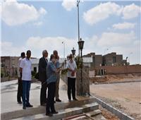 رئيس جامعة السادات يتفقد المباني استعدادًا للعام الدراسي