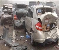 إصابة ثلاثة أشخاص إثر حادث بمحور المشير طنطاوي