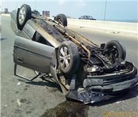 فيديو| المرور: تصادم سيارتين على الطريق الدائري دون إصابات