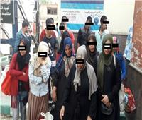 القبض على 46 بائعا متجولا و7 أشخاص في عربات السيدات بالمترو