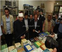 «جمعة» يفتتح معرض «الأعلى للشئون الإسلامية» للكتاب بالإسكندرية