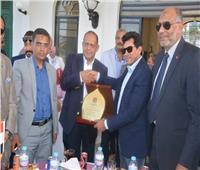 وزير الرياضة يقوم بجولة تفقدية لنادي أصحاب الجياد والصيد بالإسكندرية