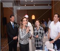 صور| نادية مصطفى وهالة سرحان تشاركان بندوة تعريفية عن الحج