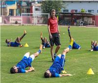 تدريبات منفردة للاعبي الأهلي قبل موقعة «النجمة» اللبناني