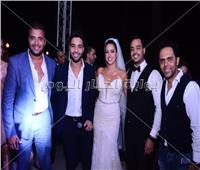 صور| رامي صبري وأحمد جمال يحتفلان بزفاف الإعلامية إلهام وجدي