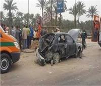 إصابة 15 شخصا فى حادث تصادم في أكتوبر