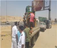 مدير أمن القاهرة يقود حملات مكبرة في 23 منطقة لإزالة الإشغالات