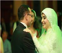 الليثي وبوسي يشعلان حفل زفاف «زكى وداليا» بدار الحرس الجمهوري