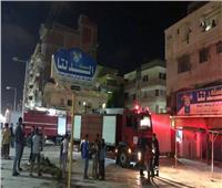 الحماية المدنية تسيطر على حريق بفندق في جمصة