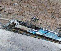مصرع وإصابة 9 أشخاص في تصادم 4 سيارات بطريق «رأس سدر – النفق»