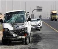 مصرع 8 أشخاص وإصابة 13 في تصادم بطريق «القصير- مرسى علم»