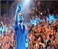 صور  رامي جمال يشعل حفل بورتو سعيد