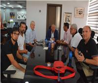 صور| تفاصيل اجتماع «أبو ريدة» مع الجهاز الفني للمنتخب