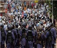 مقتل شخص وإصابة خمسة أثناء تفريق الشرطة مظاهرة بوسط أوغندا