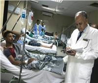 صور  أزمة بمستشفى طوارئ المنصورة بسبب «الإيدز».. واتهامات متناثرة بين الإدارة وأطباء