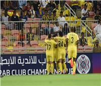 شاهد  الوصل يتعادل مع اتحاد جدة في البطولة العربية