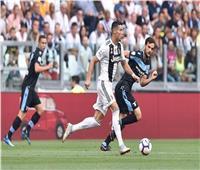 شاهد  يوفنتوس يفوز بثنائية نظيفة على لاتسيو في الدوري الإيطالي