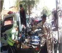 مدير أمن القاهرة يقود حملة لإزالة الإشغالات بشوارع العاصمة