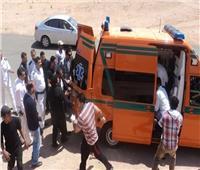 إصابة 4 في حادث تصادم بالطريق الصحراوي في الإسكندرية