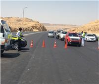 المرور: ضبط 33 سائقًا يتعاطون المواد المخدرة أثناء القيادة