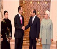 ننشر تفاصيل المؤتمر الصحفي بين الرئيس السيسي ونظيره الفيتنامي