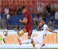 شاهد  روما تتعادل بصعوبة مع أتلانتا في الدوري الإيطالي