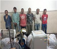 القبض على المتهمين بسرقة مصنع ملابس عين شمس