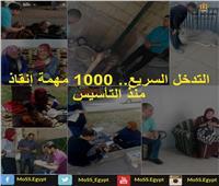 «التدخل السريع».. 1000 مهمة إنقاذ منذ التأسيس
