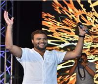 بالصور| رامي صبري يتألف بحفل في الإسكندرية