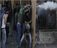 فلسطينيون يشتبكون مع الشرطة الإسرائيلية في احتجاج بالضفة الغربية
