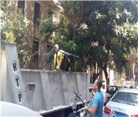 صور| حملة مكبرة لشرطة المرافق في 14 منطقة بالجيزة