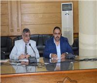 رئيس جامعة بنها يلتقي بالإدارة الهندسية ويؤكد على العمل كفريق واحد