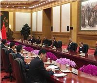 بالفيديو  قطار كهربائي بالعاصمة الإدارية ضمن الاتفاقيات المصرية الصينية