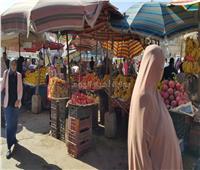 الركود يصيب أسواق الفاكهة بالسويس عقب تدشين حملة «خليها تحمض»