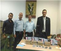 ضبط محاولتي تهريب أجهزة اللاسلكي وأدوية بمطار برج العرب