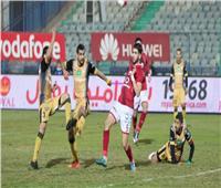 الشوط الأول| التعادل السلبي يسطير على مباراة الأهلى والإنتاج