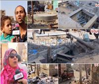 فيديو وصور| أهالي البدرشين: «نحن نعيش في كارثة»