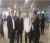 السفارة المصرية في استقبال المنتخب الأولمبي فور وصوله روسيا