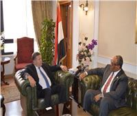 وزير قطاع الأعمال العام يبحث مع سفير الإمارات بالقاهرة تعزيز التعاون المشترك