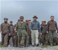 صور| ولي عهد دبي في رحلة صيد مع محمد بن راشد آل مكتوم بإنجلترا