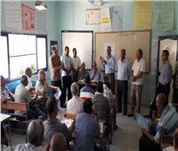 رئيس مركز العدوة بالمنيا يتابع الاستعدادات العام الدراسي الجديد