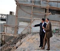 محافظ القليوبية يتفقد ممشى النيل الجديد بمدينةبنها