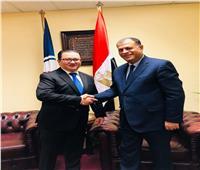 بحث مشاركة مصر في اجتماع مجلس «البترول العالمي»