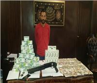 سقوط سائق بحوزته 7 آلاف قرص مخدر في المعادي