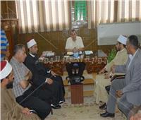 نائب محافظ شمال سيناء يستقبل أعضاء قافلة الازهر بالعريش
