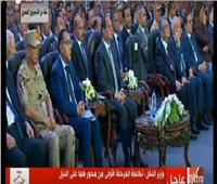 بالفيديو| الرئيس السيسي يوجه تحية خاصة لأهل الصعيد.. تعرف على السبب